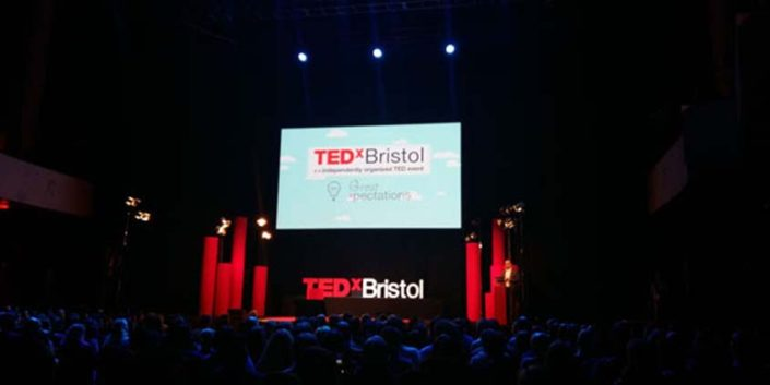 Stage at TEDxBristol 2015